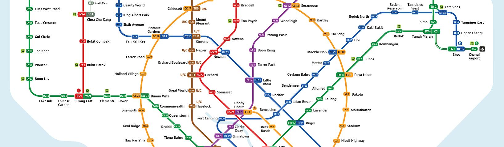2019 singapore mrt map